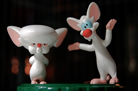 zen doughboy media - pic (flickr)  pinky and the brain by JD Hancock